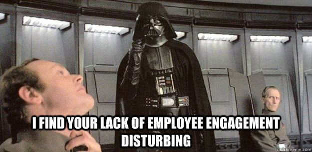 lack of employee engagement