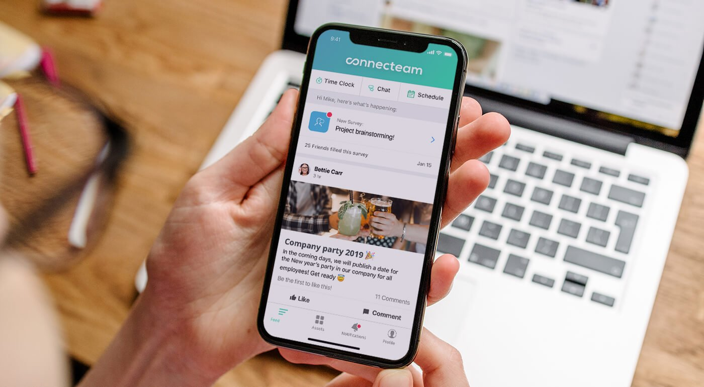 Connecteam is the best employee management app