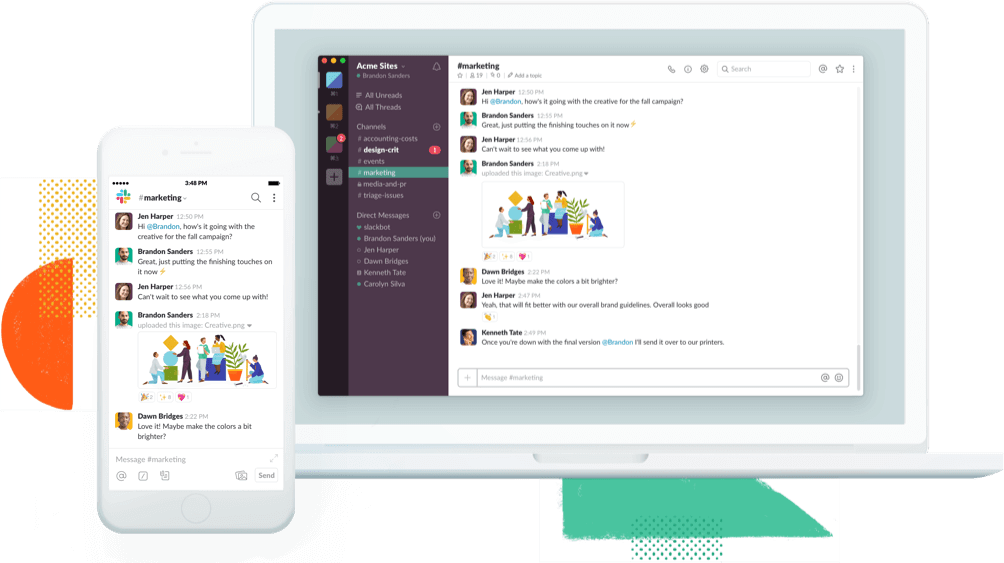 slack software