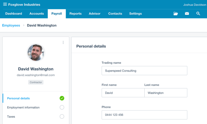 Xero software