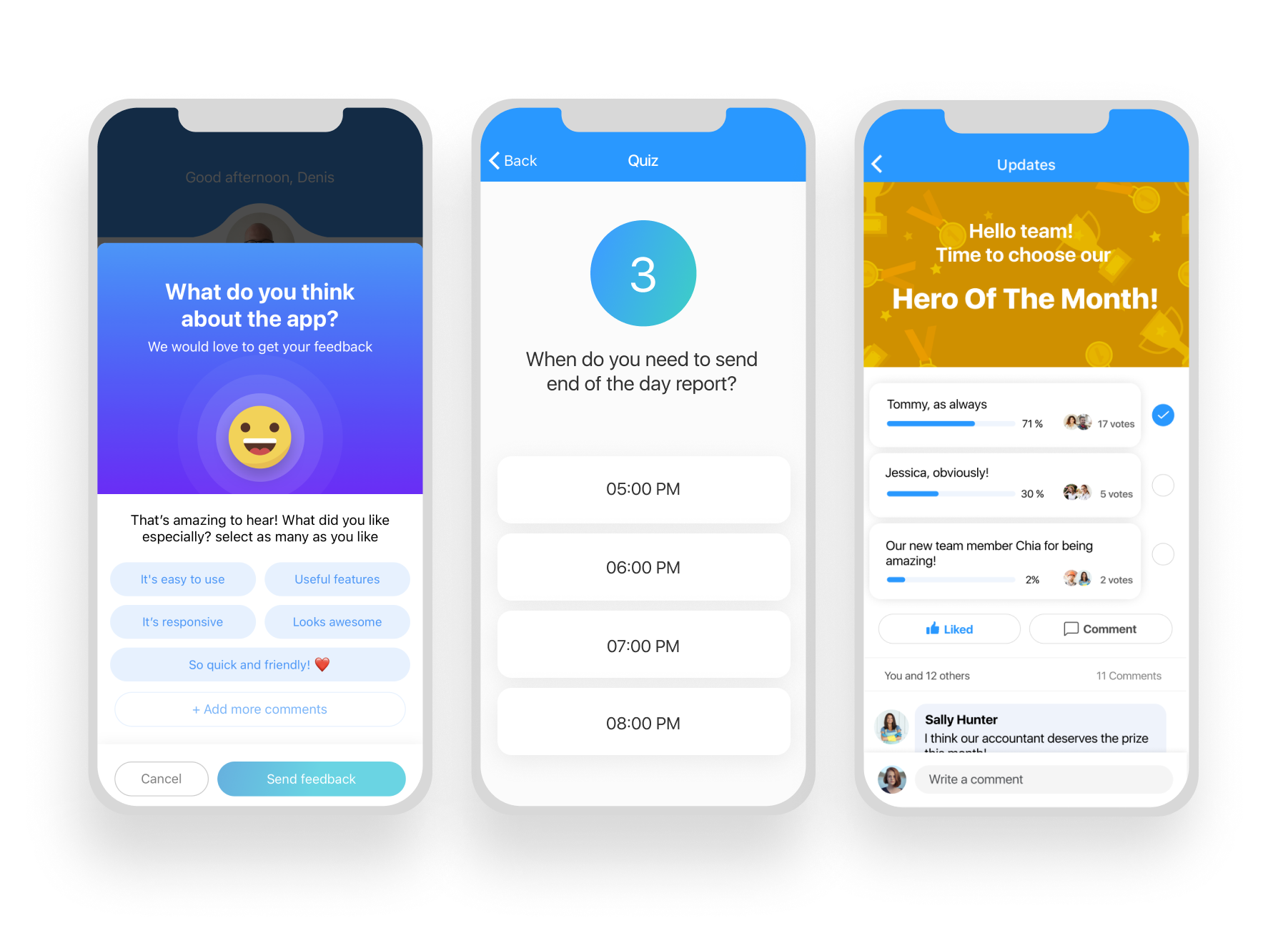 mobile app for employee engagement