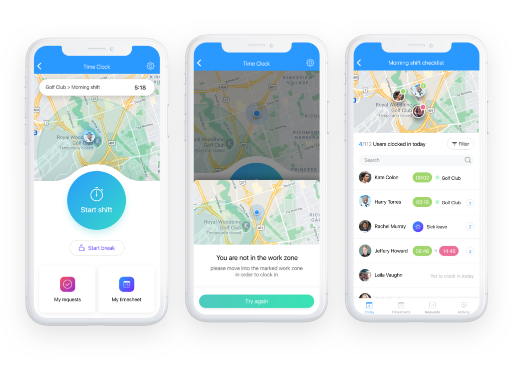 security employee tracking app