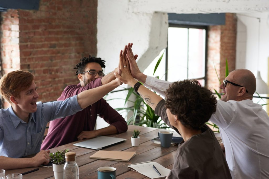 Boost employee moral with office teamwork