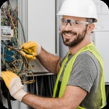 Electricians employee management app