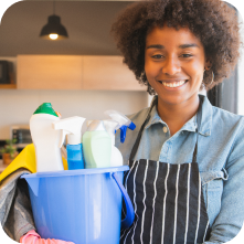 Cleaning employee management app